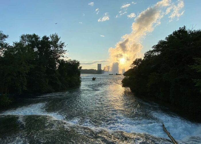 Niagara Falls USA Walking Tour with Optional Cave of the Winds Add-on