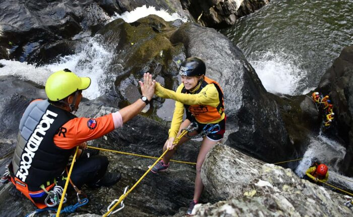 Cairns Canyoning - Spillway Canyon