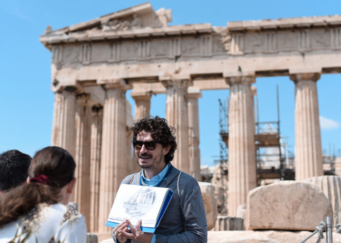 Best of Athens in One Day: Acropolis & City Exploration with Transfer