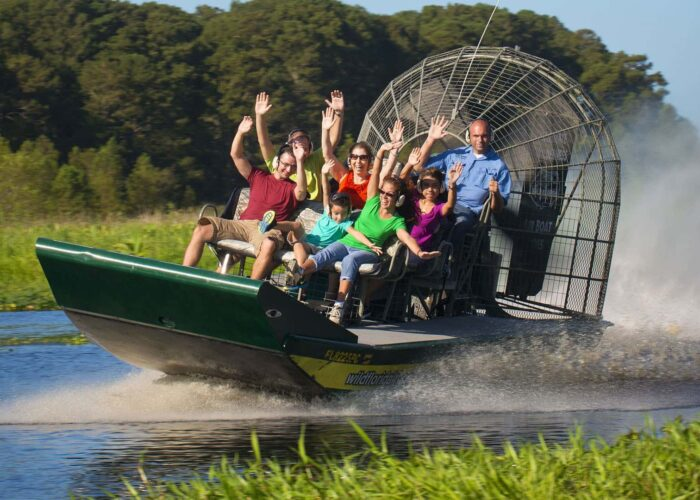 Everglades National Gator Park Ticket/no Transfer - Airboat & Wildlife Show