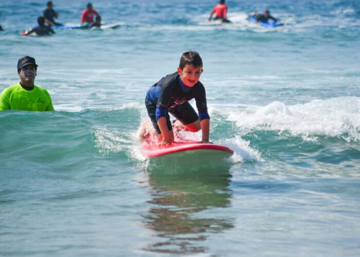 Surf Lessons at Cerritos