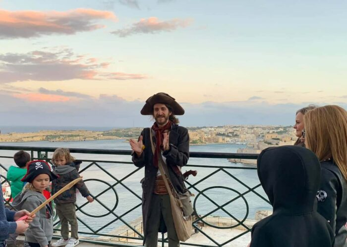 Children's Pirate Valletta Tour