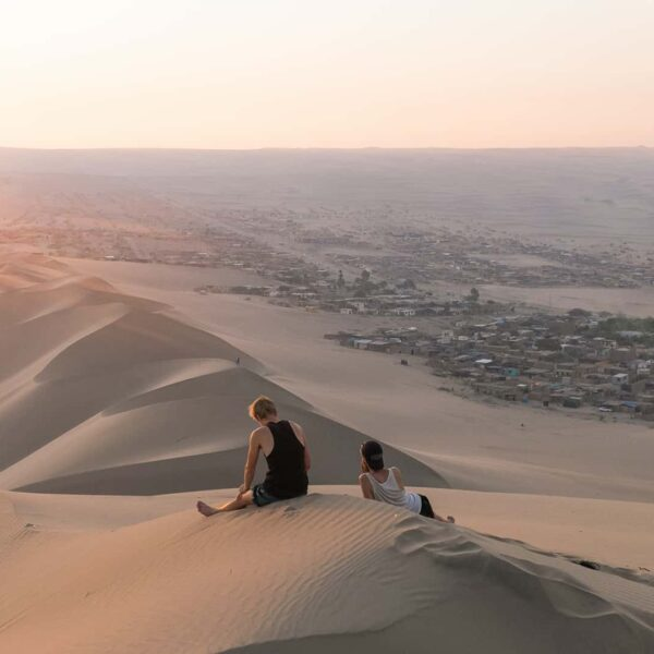 From Lima: Ballestas, Nazca Lines & Huacachina Oasis
