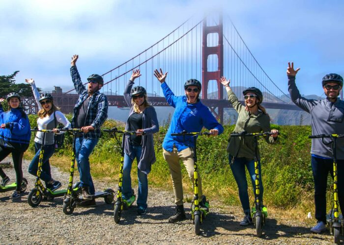 Electric Scooter Tour to the Golden Gate Bridge