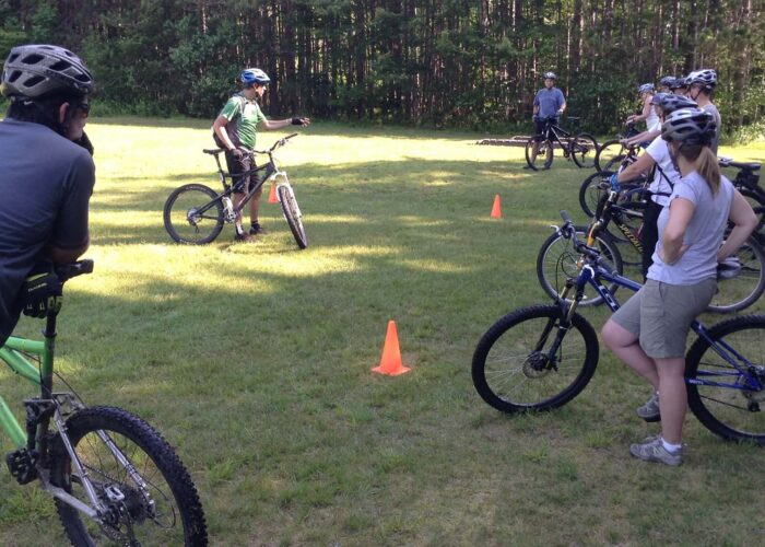 Mountain Bike Group Lesson in Vermont