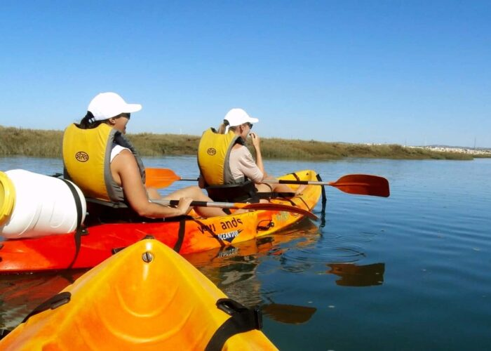 Rent a Kayak to Explore the Algarve's Ria Formosa from Faro
